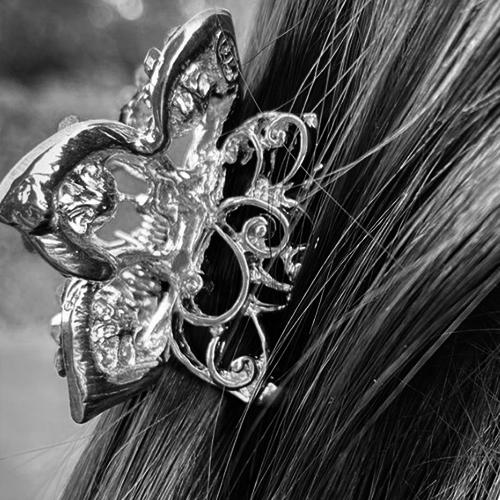 Vlinder haarklem